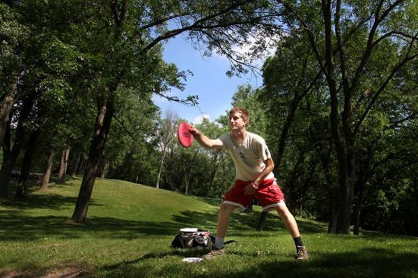 Disc Golf at North Valley Park