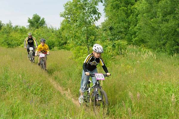 Mountain Biking at Harmon Park Reserve
