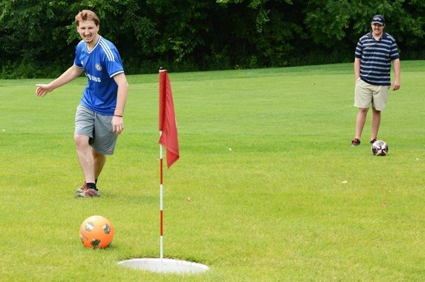 Foot Golf Inver Wood