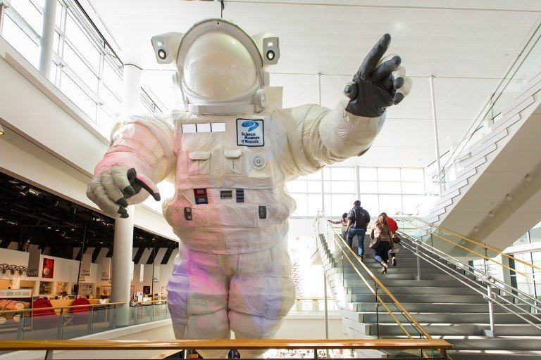 Science Museum of Minnesota Astronaut