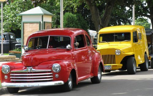 MSRA's Back to the 50's car show