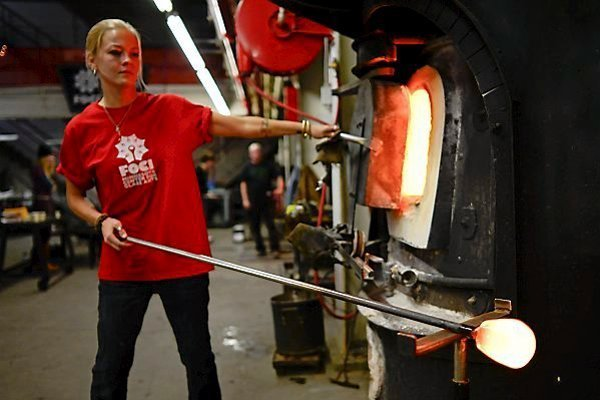 Glass Blowing Foci