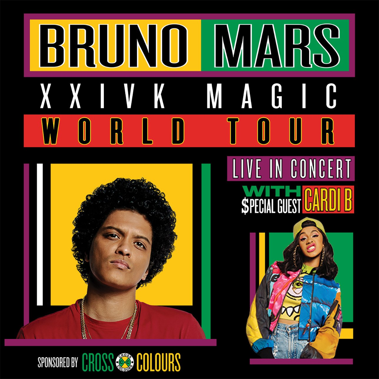 Bruno Mars with special guest Cardi B