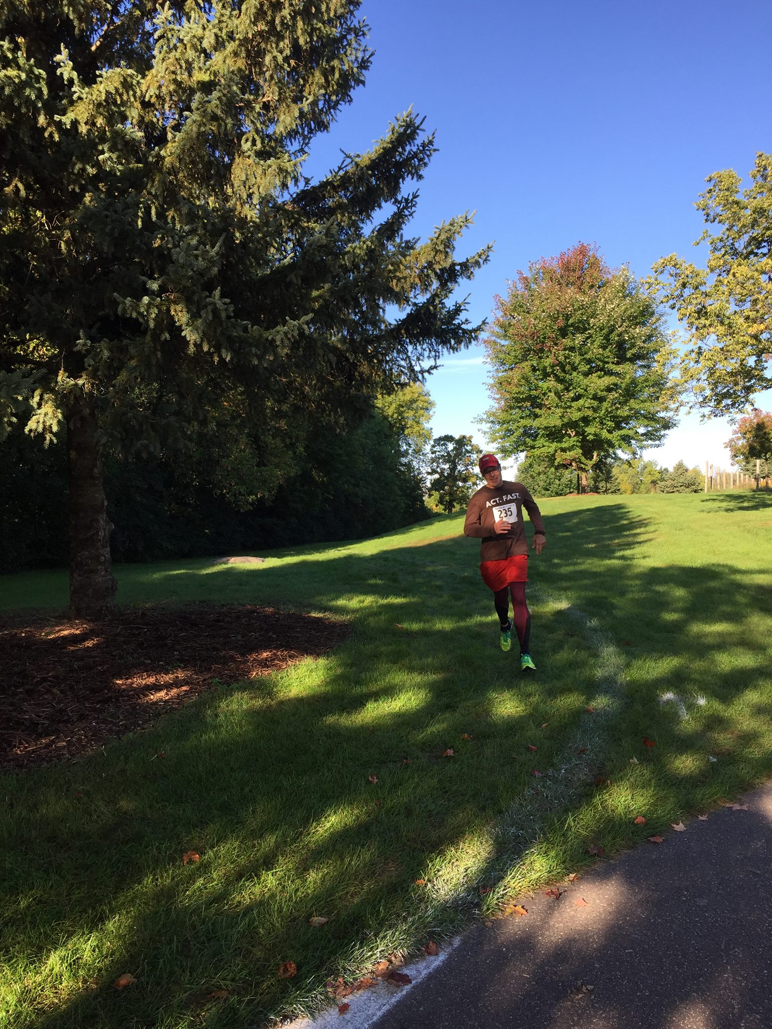 Harmon Farms Trail Run in Inver Grove Heights Minnesota