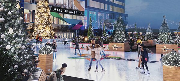 Skating Rink at Mall of America
