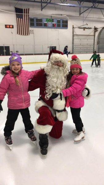 Skating with Santa Holidays in The Heights