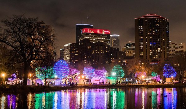 Holidazzle Minneapolis